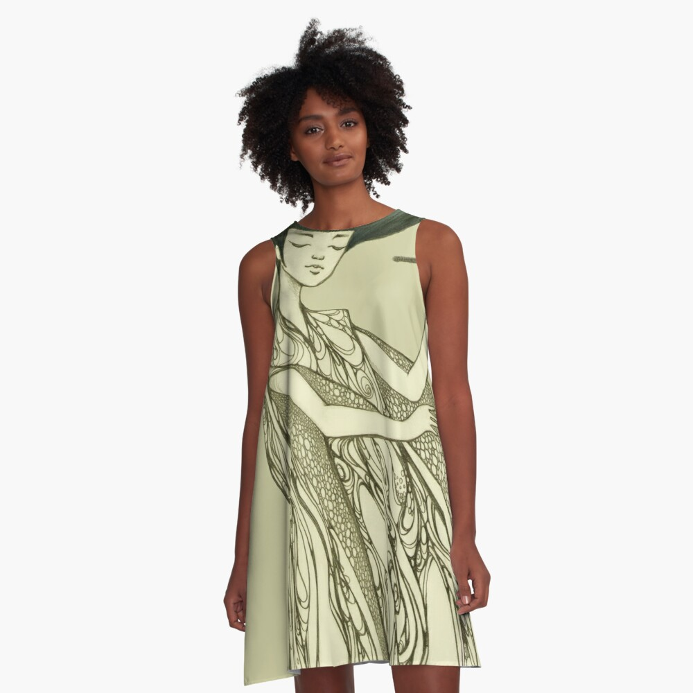 Create Yourself A-Line Dress Front