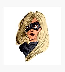 Black Canary Photographic Print