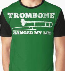 Trombone Changed My Life - Trombone Pro Design Graphic T-Shirt