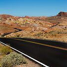 Desert Highway by Dave Hare