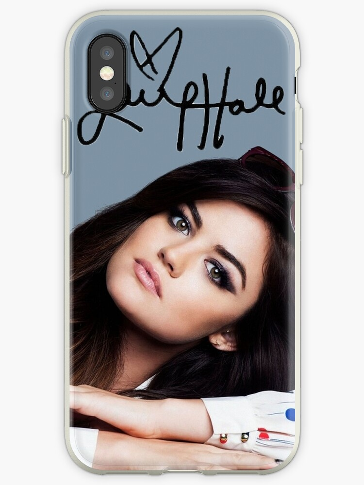 detailed look 35901 47118 'Lucy Hale - Signature' iPhone Case by DriftingTides