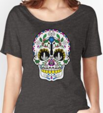 Mexican Coffee Skull Women's Relaxed Fit T-Shirt