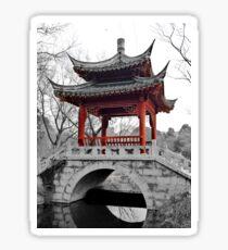 Chinese Pavilion Sticker