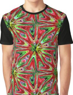 Abstract Color Confusion Graphic T-Shirt
