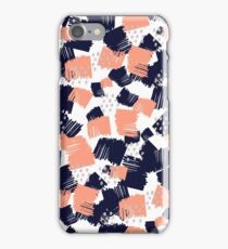 Buffer // Abstract Scribble Pattern Pink iPhone Case/Skin
