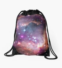 """Hubble/Chandra/Spitzer composite image of NGC 602, in the """"wing"""" of the Small Magellanic Cloud Drawstring Bag"""