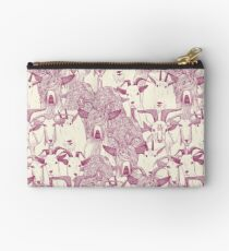 just goats cherry pearl Studio Pouch