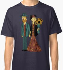 Love is Art Frida Kahlo and Van Gogh Classic T-Shirt