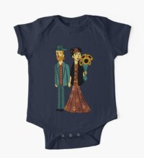 Love is Art Frida Kahlo and Van Gogh Kids Clothes