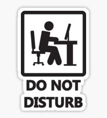 Gaming - DO NOT DISTURB Sticker
