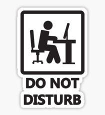Gaming - DO NOT DISTURB Sticker