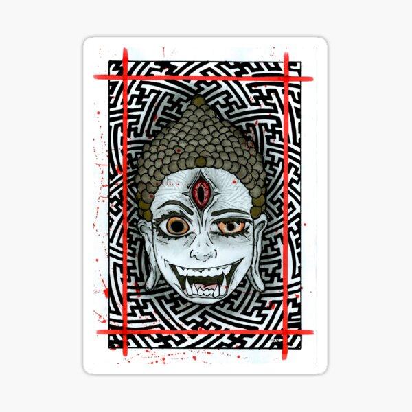 Third Eye Buddha Sticker