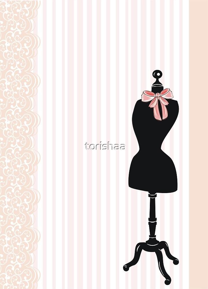 Dress form  by torishaa