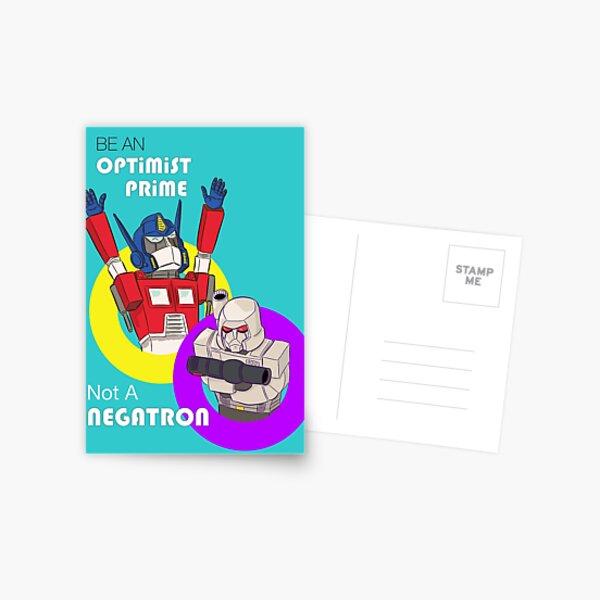 Be an Optimist Prime Postcard