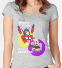 Be an Optimist Prime Women's Fitted Scoop T-Shirt