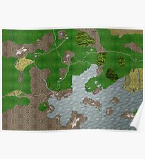 Midgard Map Poster