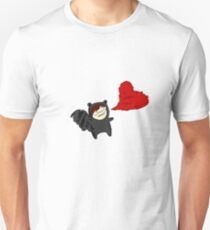 Raccoon Love Unisex T-Shirt