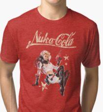 Nukacola Pin-up Tri-blend T-Shirt