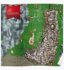 RPG Map Poster