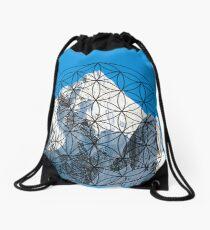 Sacred Mountain Drawstring Bag