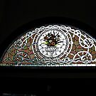 Stained Glass Shimmer Above the Door by Jane Neill-Hancock