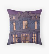 Victorian Mansion Throw Pillow