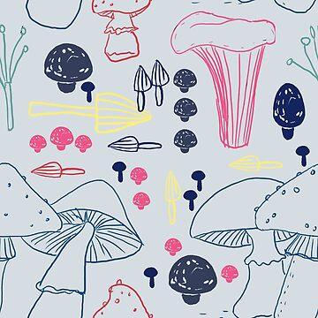 mushrooms by Tessa-Rath