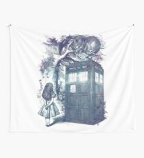 WHO is in wonderland Wall Tapestry