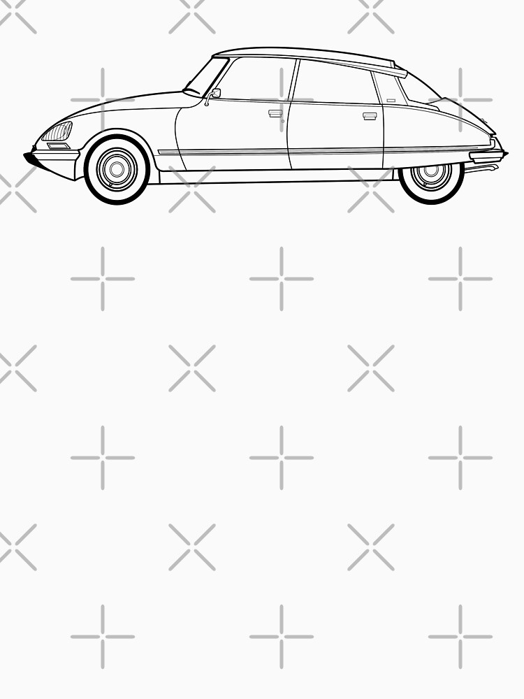 Citroen Ds19 Box Wiring Diagram Traction Avant Ds 23 Efi Line Drawing Artwork Unisex: Citroen Ds 21 Wiring Diagram At Hrqsolutions.co