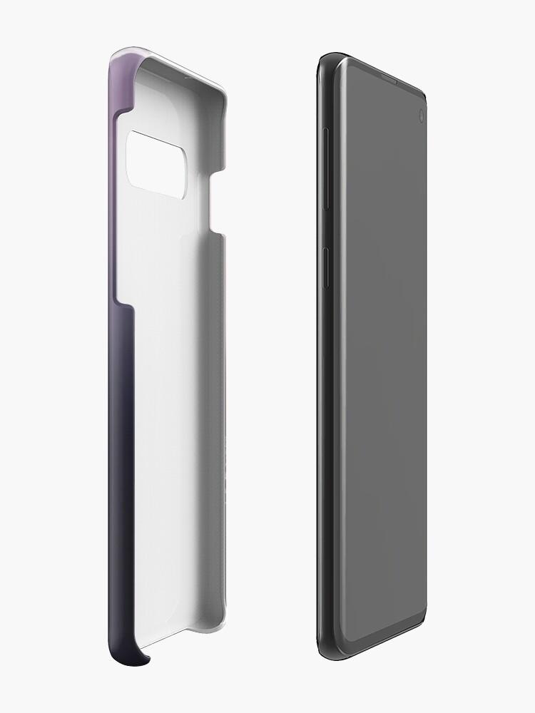 Vista alternativa de Funda y vinilo para Samsung Galaxy Pluma en tonos pastel