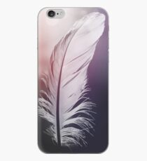 Feather in Pastel Tones iPhone Case
