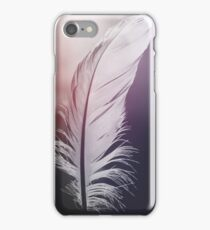 Feather in Pastel Tones iPhone Case/Skin