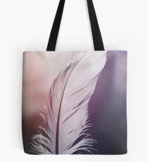 Feder in Pastelltönen Tote Bag