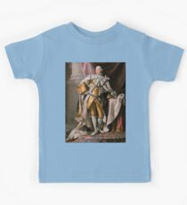 King George III of the United Kingdom Kids Tee