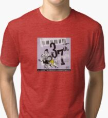 SHAOLIN JAZZ - Hi Fi Tri-blend T-Shirt