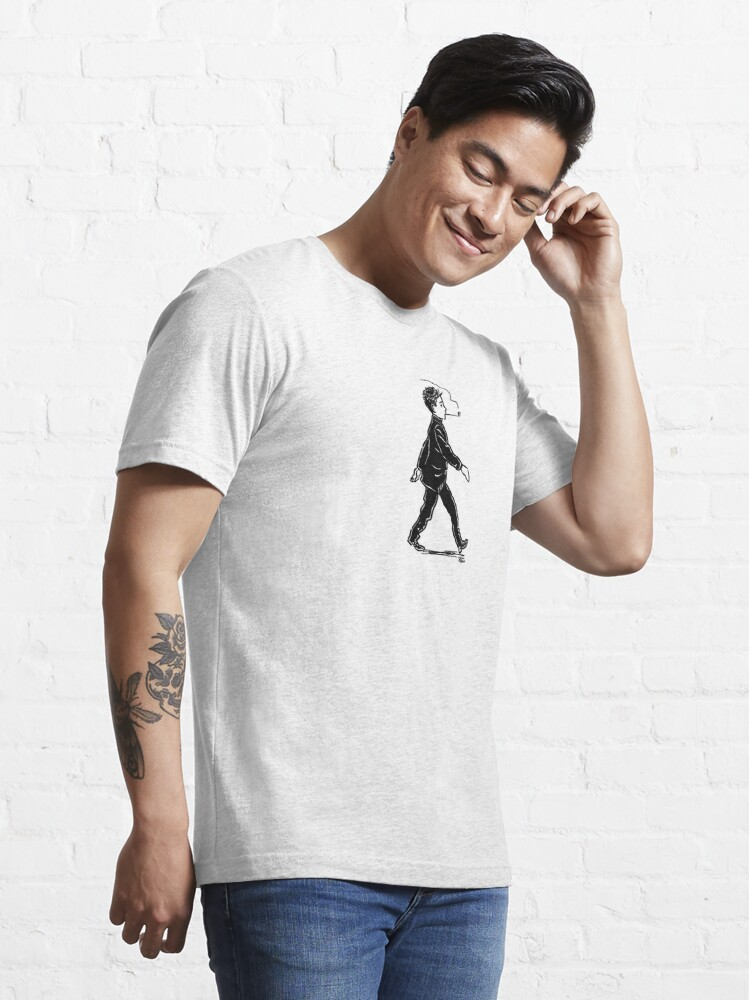 """Alternate view of Rimbaud """"On The Way To Everywhere"""" by Julian Peters Essential T-Shirt"""