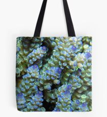 Blue Acropora at Wayag Tote Bag