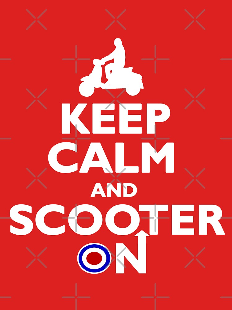 Keep Calm and Scooter On | Unisex T-Shirt