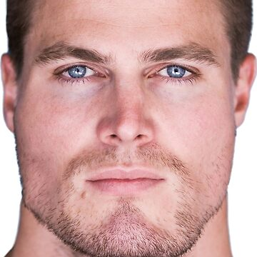 Stephen Amell Face Throw Pillow II by Shappie112
