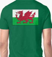 WALES, Welsh, Cymru, Welsh Flag, Pure & simple. Red Dragon of Wales T-Shirt