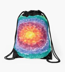 Growth: Watercolor One Drawstring Bag