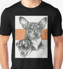 Rat Terrier, Father & Son Unisex T-Shirt
