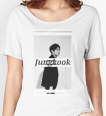 Jungkook Women's Relaxed Fit T-Shirt