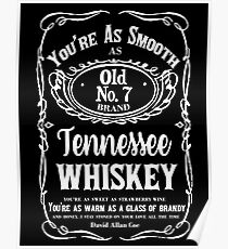 Tennessee Whiskey Poster