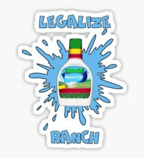 LEGALIZE RANCH Sticker