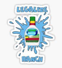 LEGALIZE RANCH Sticker