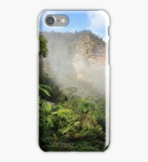 Morning fog in the Blue Mountains NSW iPhone Case/Skin