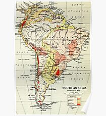 South America Poster