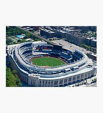 Yankee Stadium From Above Photographic Print