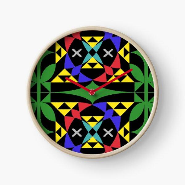 Triforce Kaleidoscope Clock